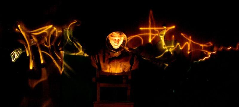 Mystische Bildwirkung durch Lightpainting